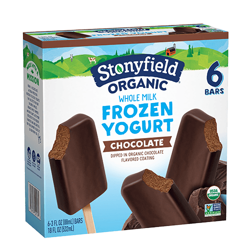 Frozen Yogurt Bars Chocolate