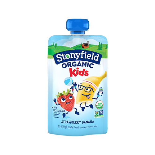 Kids Pouches Strawberry Banana