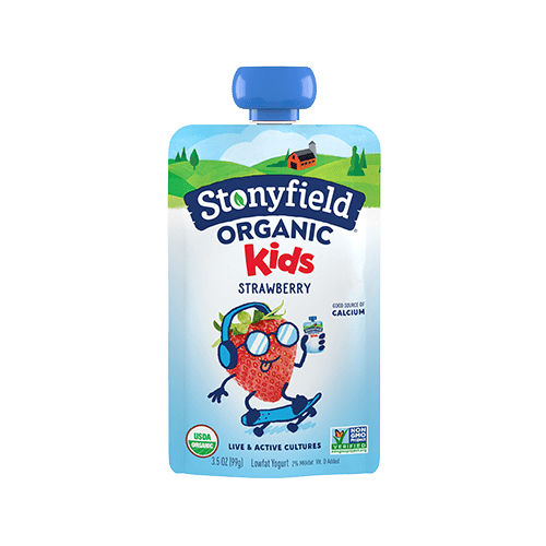 Kids Low Fat Pouches Strawberry