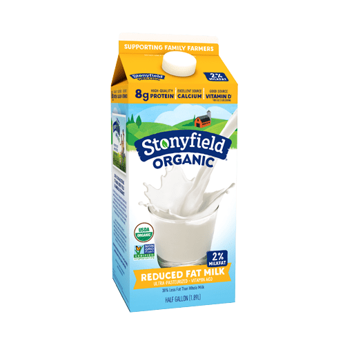 Stonyfield Organic Reduced Fat Milk
