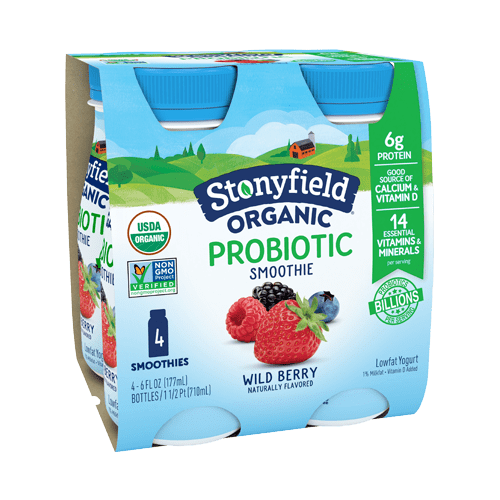 Lowfat Wild Berry Smoothie 4-pack