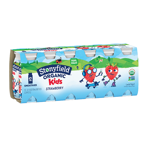 Kids Lowfat Smoothies Strawberry 12-pack