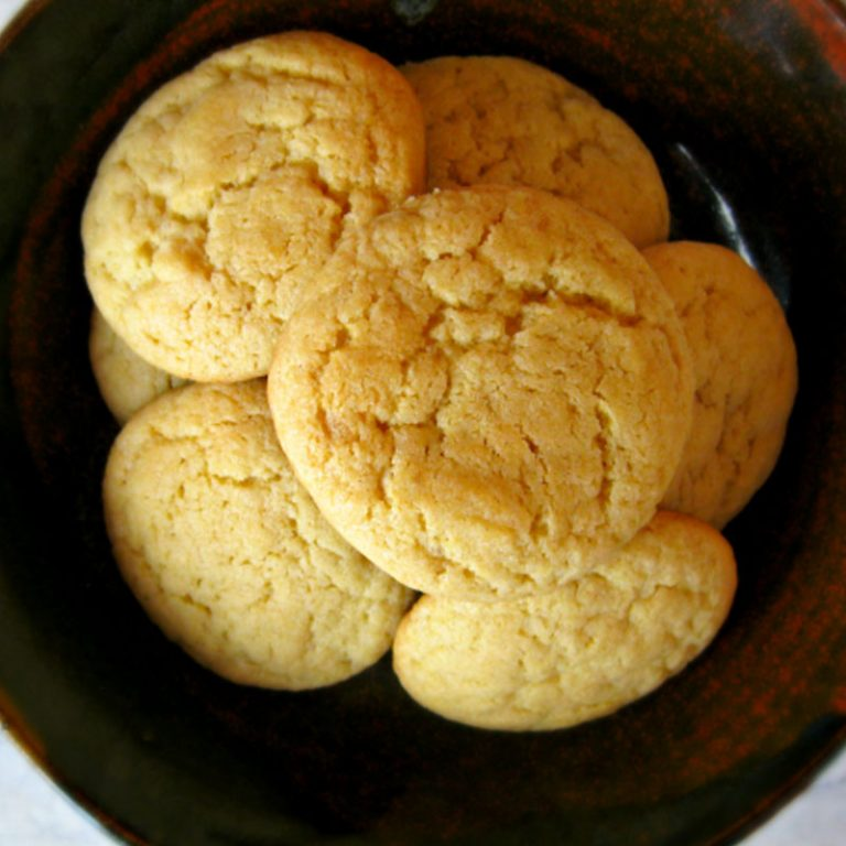 We love these brown sugar cookies as a treat with tea!
