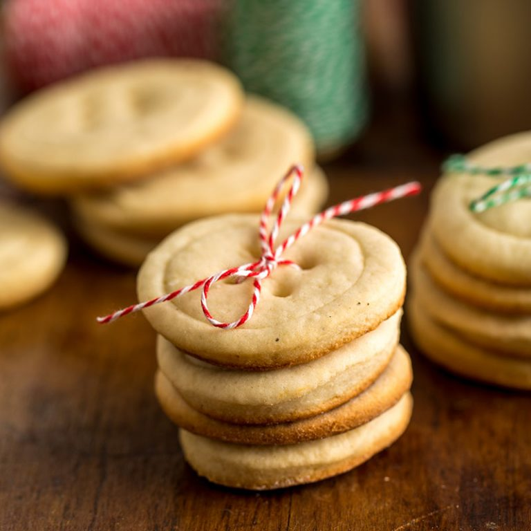 This updated sugar cookie recipe has all the flavor and half the butter of the original.