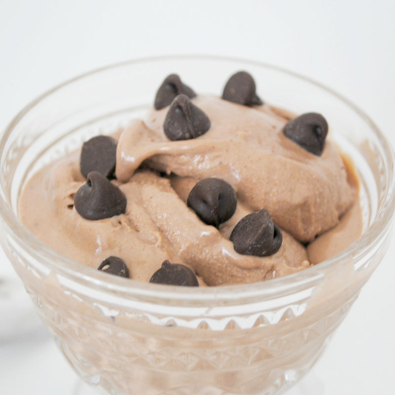 Chocolate Peanut Butter Frozen Yogurt | Stonyfield Recipes