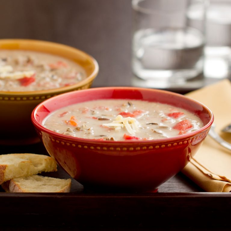 This soup is an easy and delicious weeknight meal.