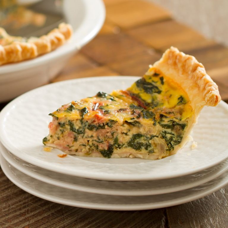 This quiche is delicious and simple to make!