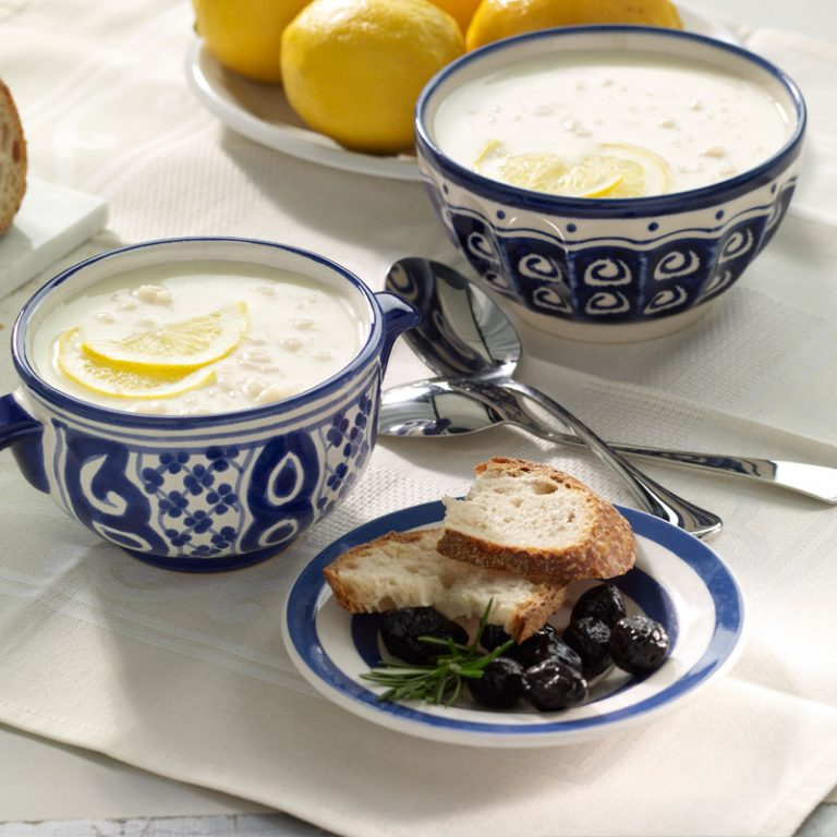 This Greek soup is a velvety lemon surprise.