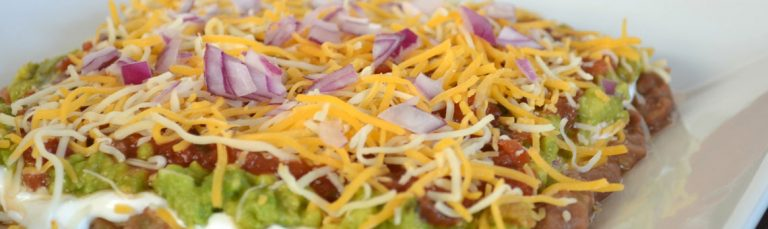 Try this lighter version of Mexican layer dip.