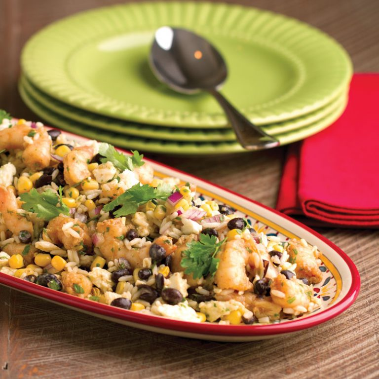 This Mexican-inspired entree salad is sure to become a favorite.