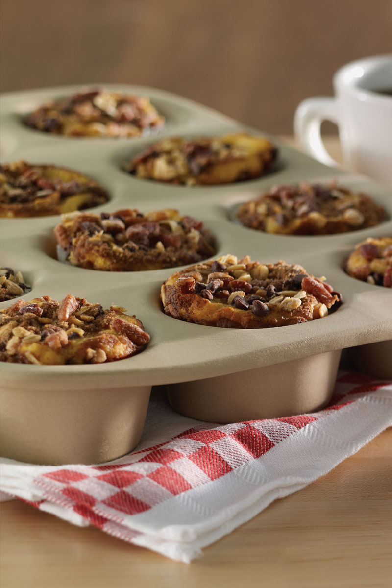 Pumpkin Pecan Chocolate Chip Muffins | Stonyfield Recipes