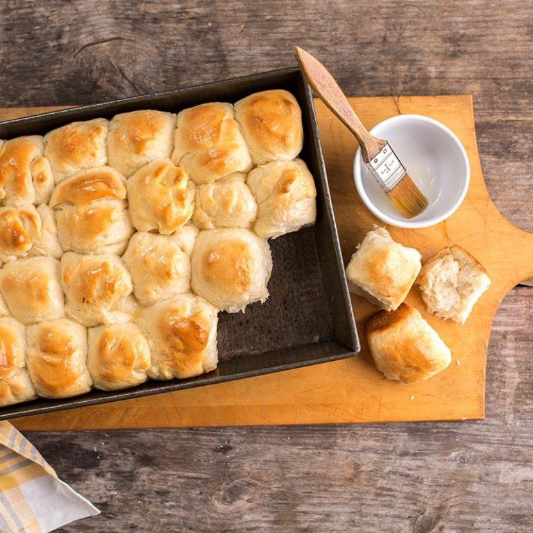 These quick yogurt yeast rolls are picture perfect.