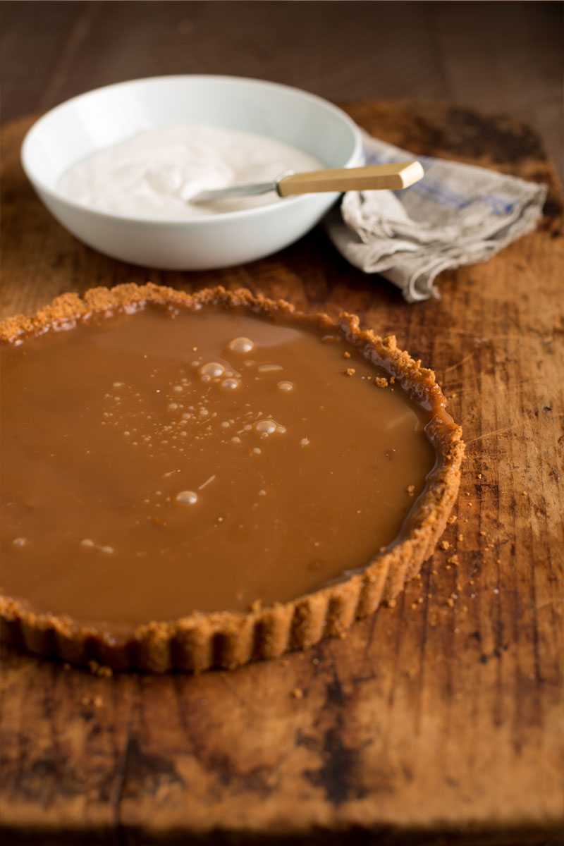 Salted Caramel Tart Stonyfield Recipes