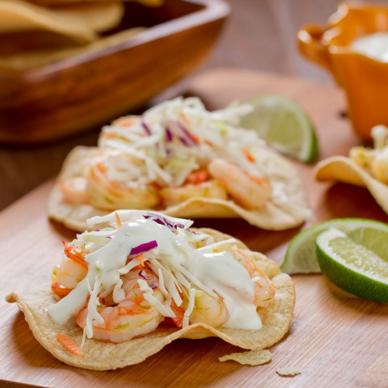 Your whole family will love these tostadas.