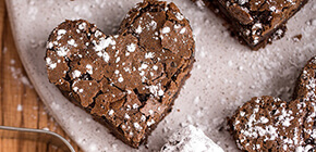 Stonyfield Recipe | Brownie Hearts & Bites