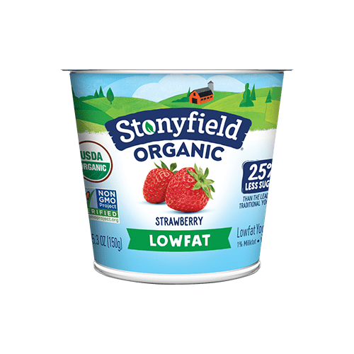 Low Fat Smooth & Creamy Strawberry