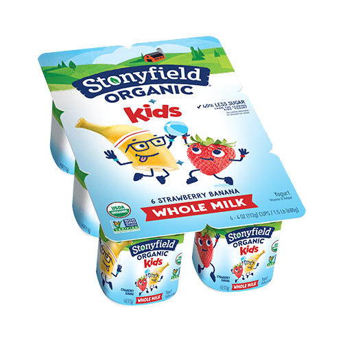 Kids Whole Milk  Strawberry Banana