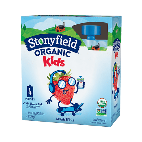 Kids Pouches Strawberry