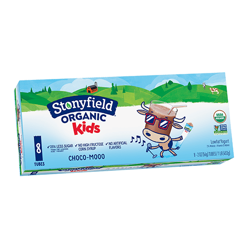 Kids Low Fat Tubes Choco-Mooo