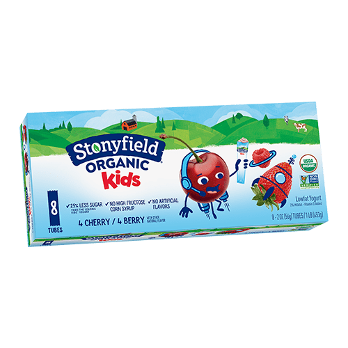 Kids Low Fat Tubes Cherry / Berry