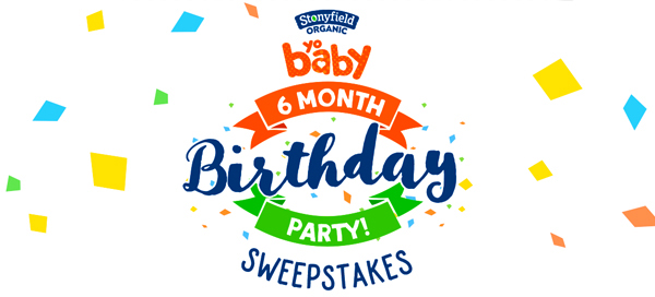 YoBaby 6 Month Birthday Sweeps Hero 1