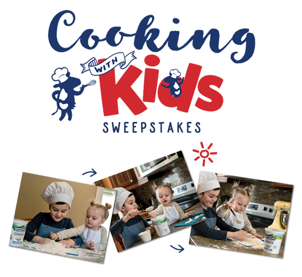 Cooking With Kids Sweepstakes Hero