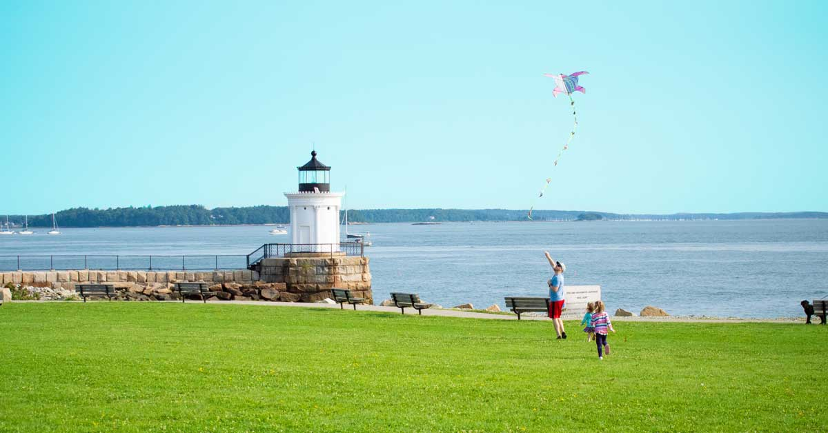 Stonyfields Bug Light Park Kite Flying