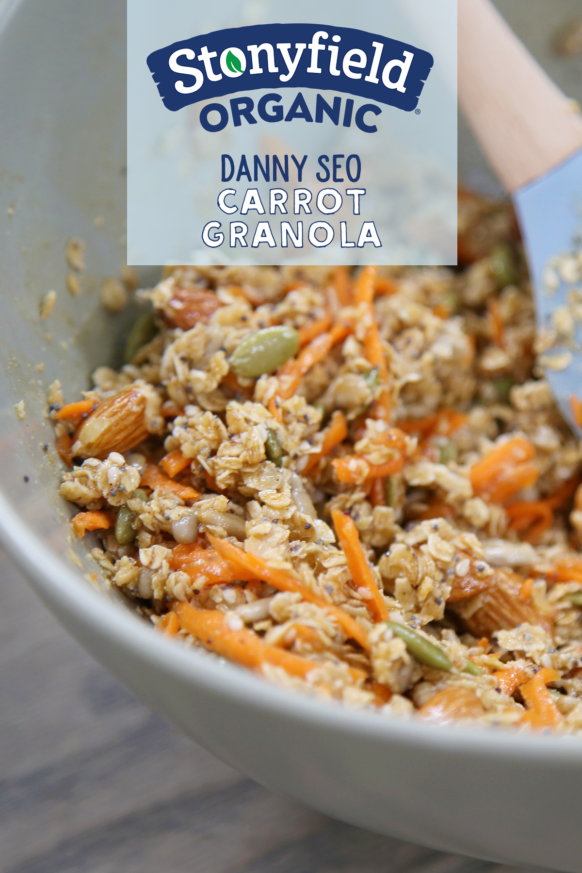 Carrot Granola By Danny Seo Stonyfield Recipes