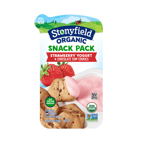 Strawberry & Chocolate Chip Cookie Snack Pack