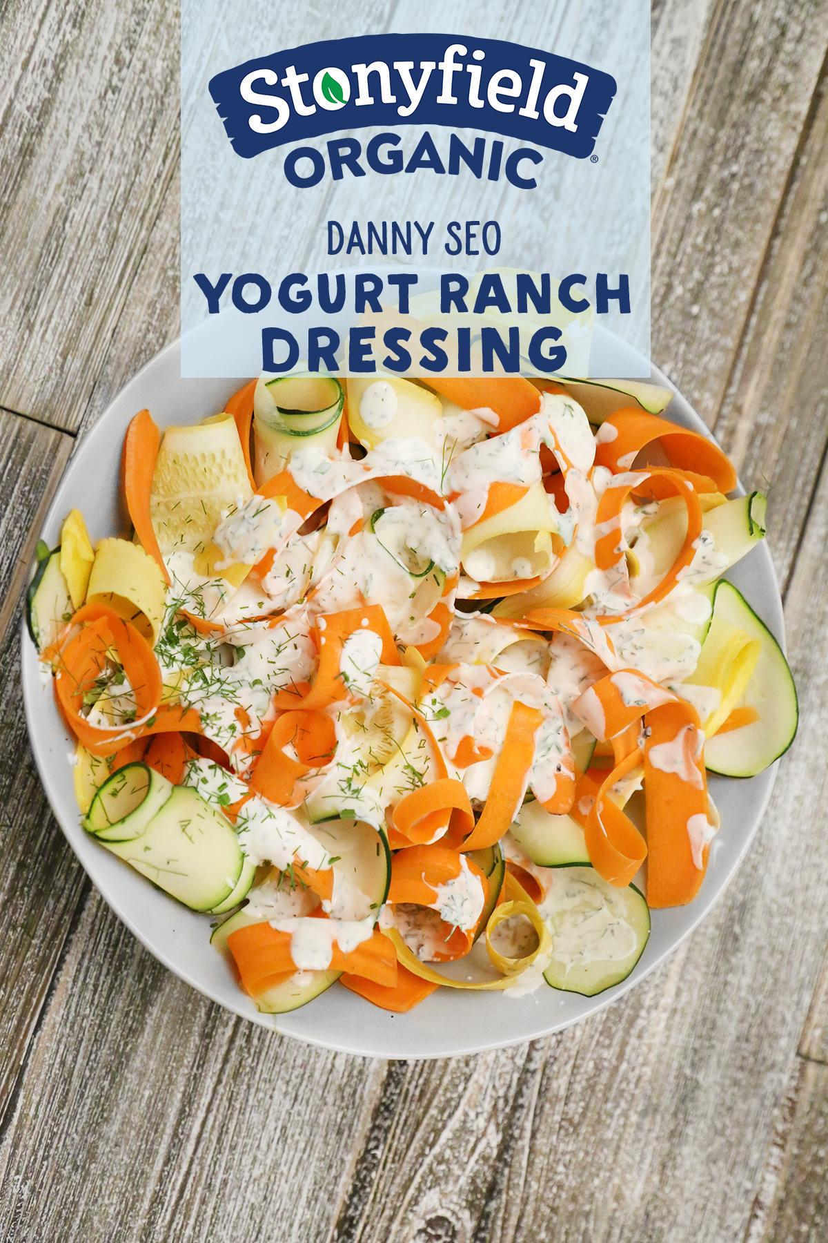 Yogurt Ranch Dressing Recipe Stonyfield