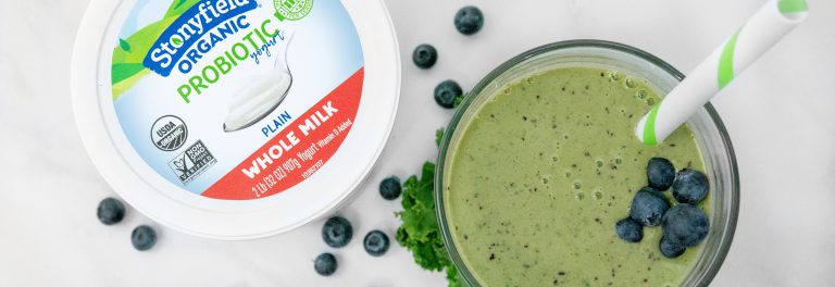 This ginger kale smoothie is the perfect pick-me-up!