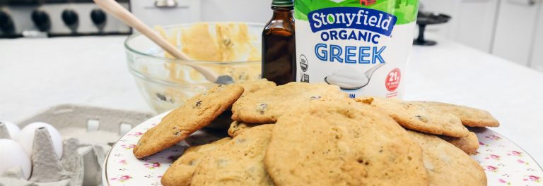 Greek Yogurt Chocolate Chip Cookie Recipe