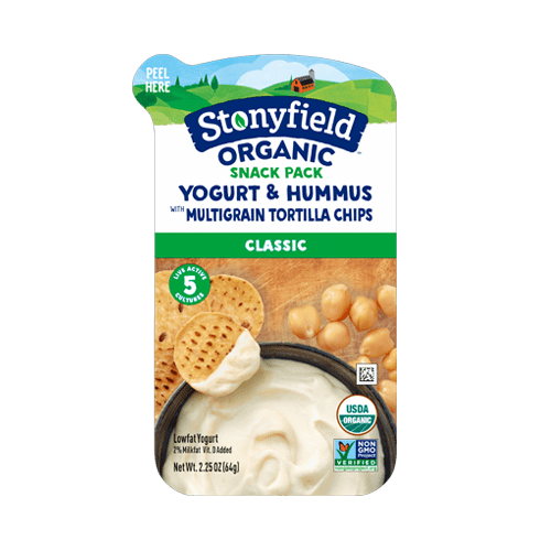 Classic Yogurt Hummus & Multigrain Tortilla Chip Snack Pack