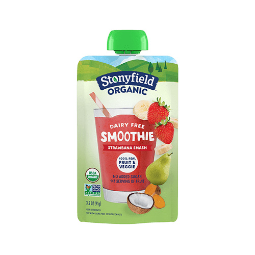 Fruit & Veggie Pouch Strawbana Smash Smoothie