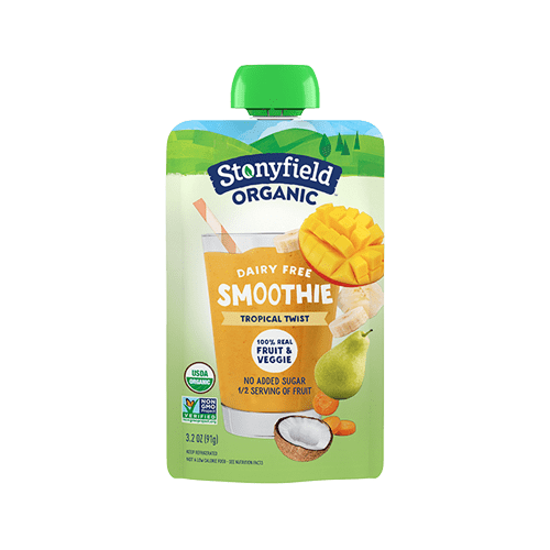 Fruit & Veggie Pouch Tropical Twist Smoothie