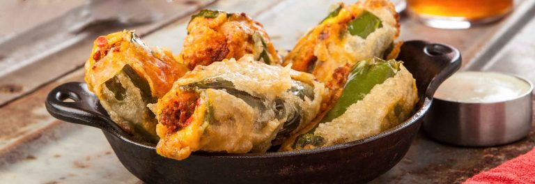 Jalapeno Poppers with Yogurt Cheese