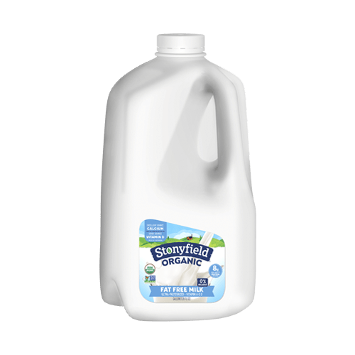Stonyfield Organic Fat Free Milk (Gallon)