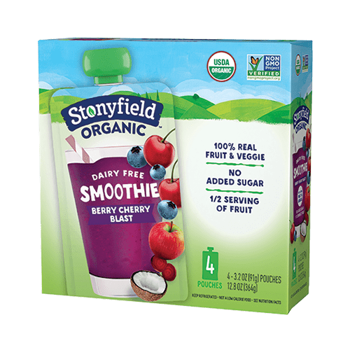 Fruit & Veggie Pouch Berry Cherry Blast Smoothie