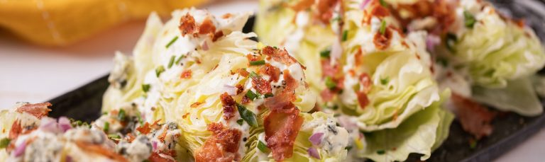 Steakhouse Wedge Salad Recipe