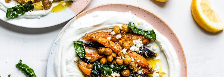 Try our recipe for roasted carrots and chickpeas seasoned with za'atar.