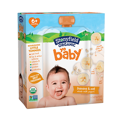 Yobaby Pouch Banana & Oat