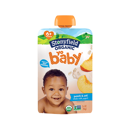 YoBaby Pouch Peach & Oat