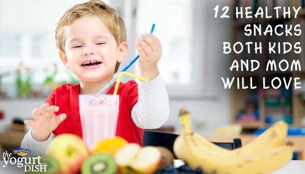 You and your child will love these healthy snacks