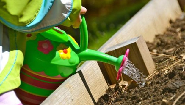 Organic gardening can be fun with your kids