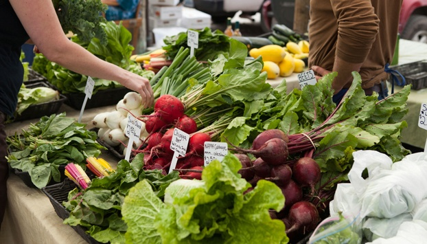 Don't be intimidated by a farmer's market