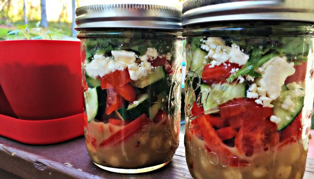 4 Fresh Ideas for Mason Jar Salads