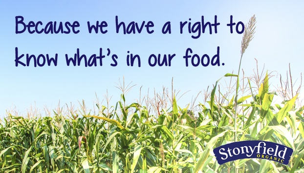 The Latest In Stonyfield's GMO Labeling Support