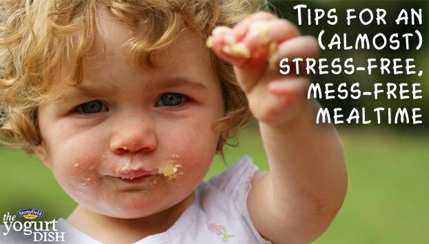Tips for an (Almost) Stress-Free, Mess-Free Mealtime