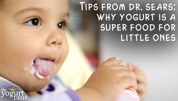 Organic yogurt is a superfood for little ones