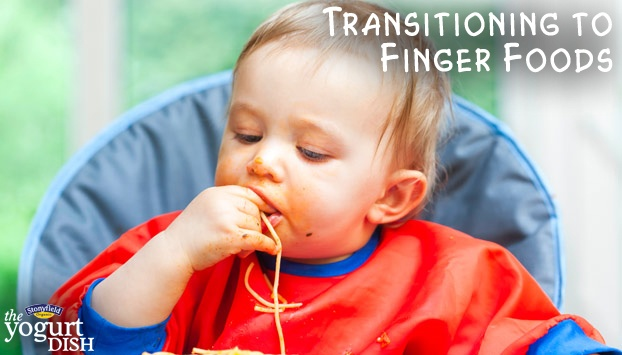 Transitioning to Finger Foods